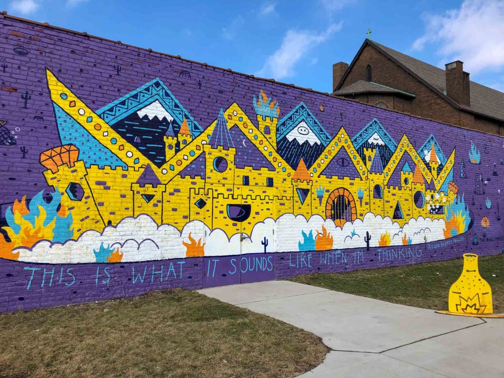 Market Garden mural in Ohio City