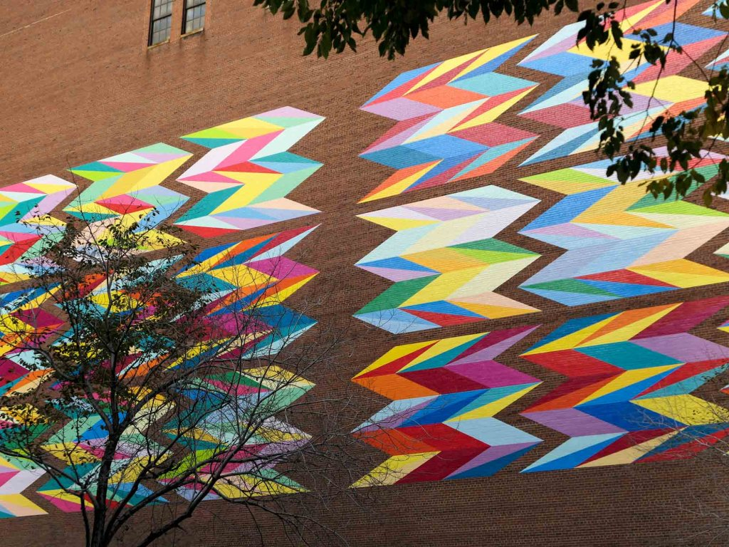 Downtown Cleveland mural