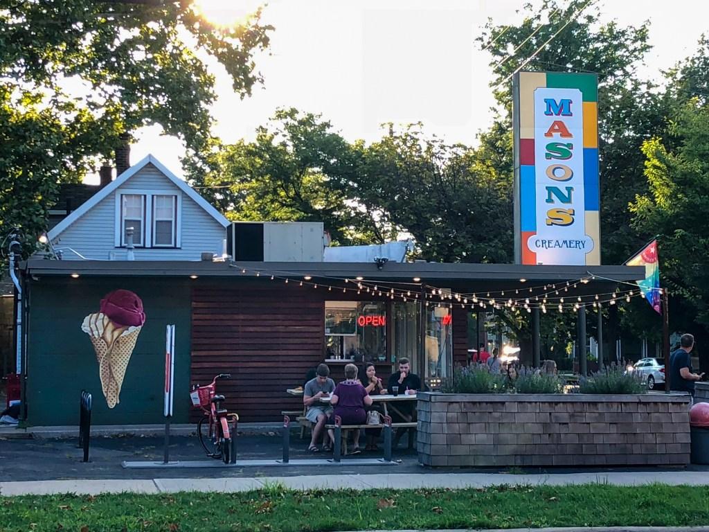 Mason's Creamery shop in Cleveland