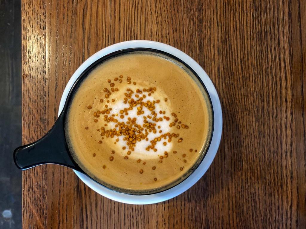 Brewella's latte