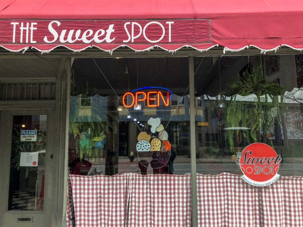 The Sweet Spot shop in Lakewood