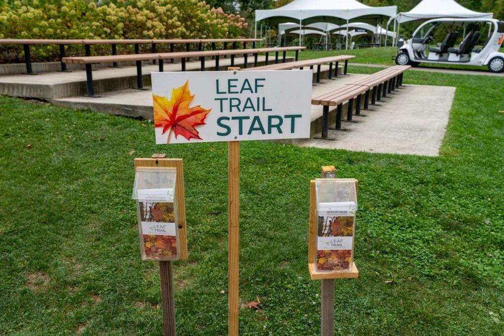 Leaf Trail at Holden Arboretum