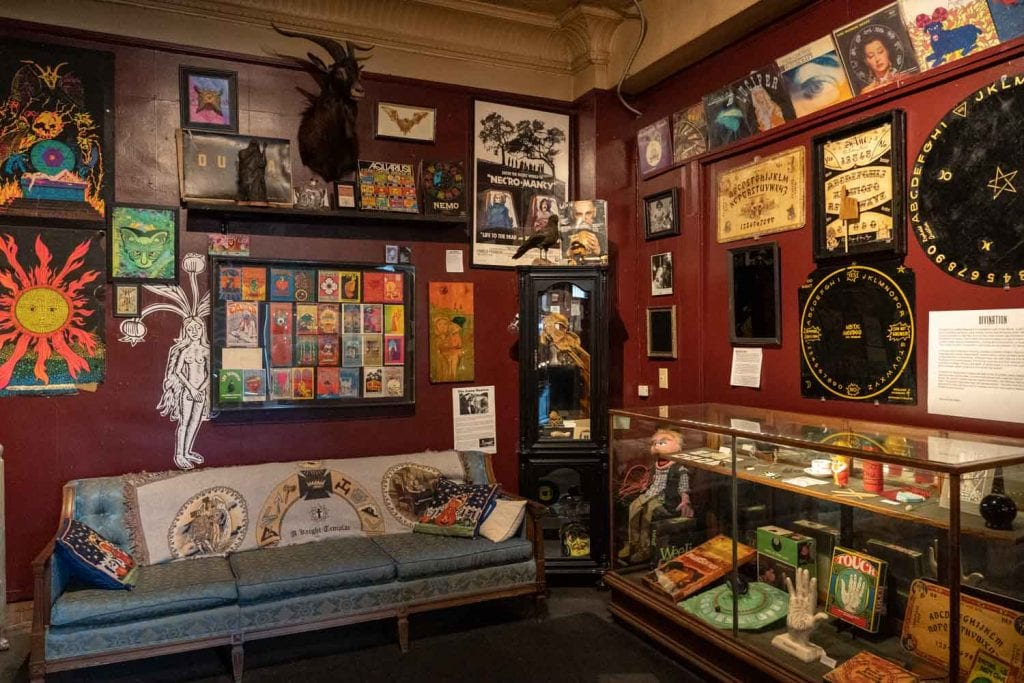 Buckland Museum of Witchcraft & Magick collection