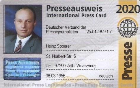 Press Bild Ausweis Heinz Spörer (3)