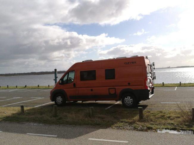 Parkplatz Oosterschelde