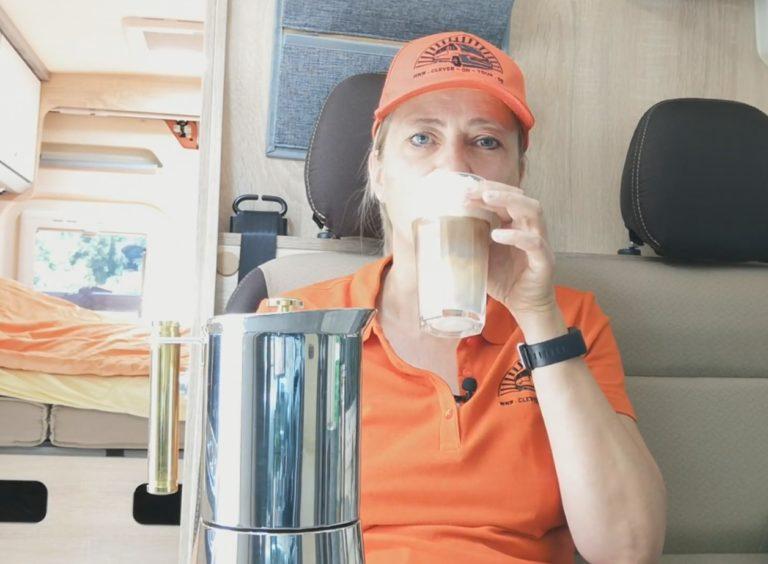 Latte macchiato schmeckt auch im Wohnmobil