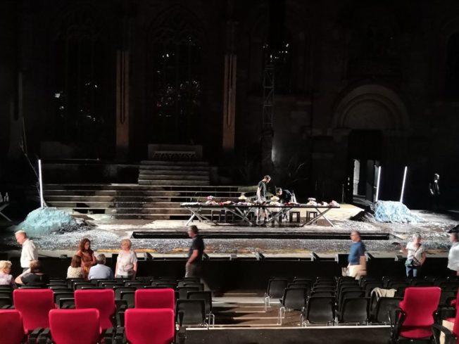 Bühne Nibelungen-Festspiele Worms 2018