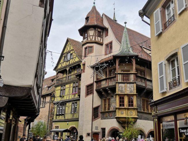 In der Altstadt Colmar