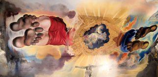 Im Teatro Museo Dalí: Deckenmalerei