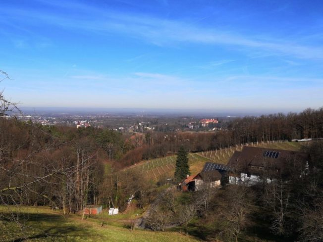 Aussicht ins Rheintal