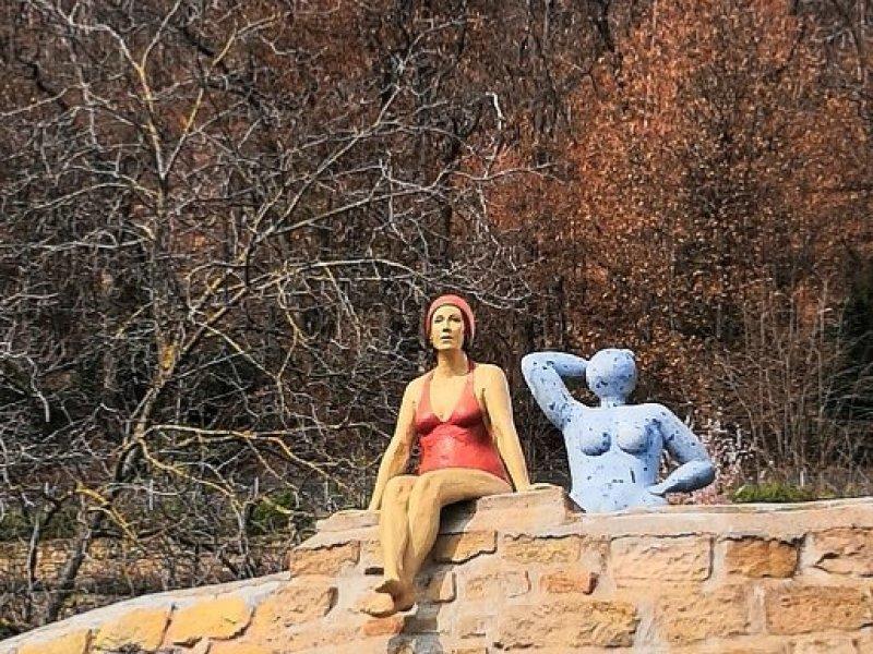Skulpturen in Haardt / Pfalz