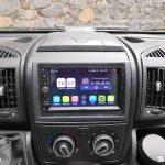 Android-Radio von Pumpkin im Kastenwagen