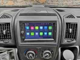 Viele Apps auf dem Android-Radio