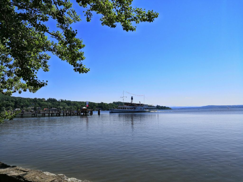 Bayerische Seen - der Ammersee in Herrsching