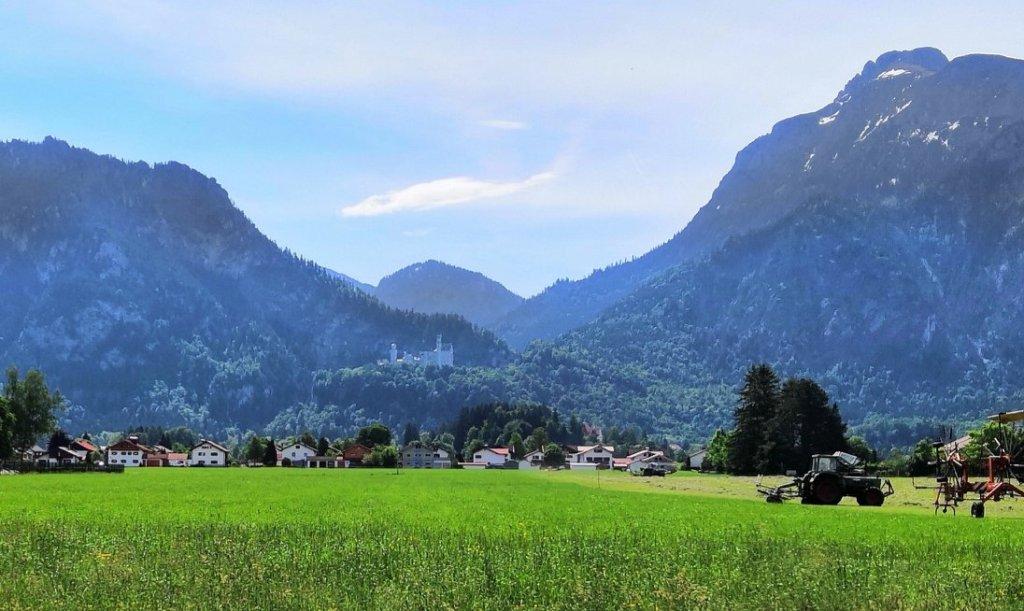 Blick auf Neuschwanstein
