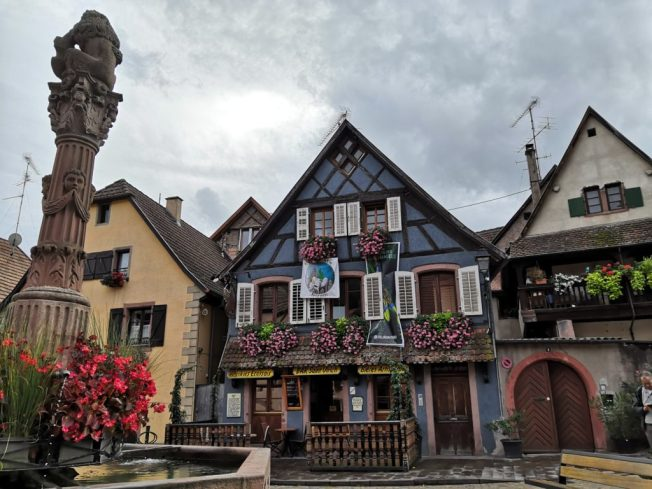 Platz in Ribeauvillé