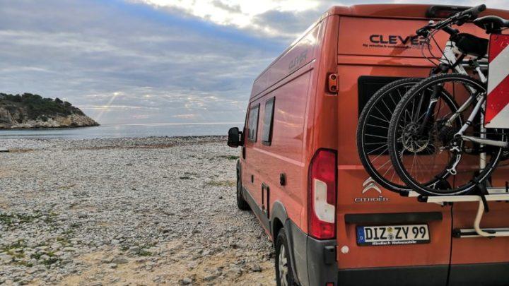 Am Strand von Mascarat