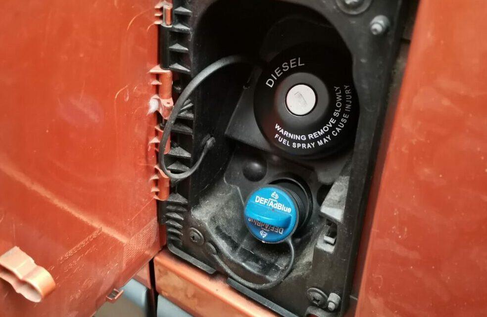 AdBlue tanken Citroen Jumper