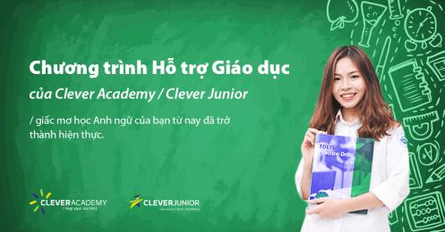 Hỗ trợ Giáo dục: Trả góp 0% lãi suất với Thẻ Tín dụng Citibank, Shinhan Bank và VIB tại Clever Academy
