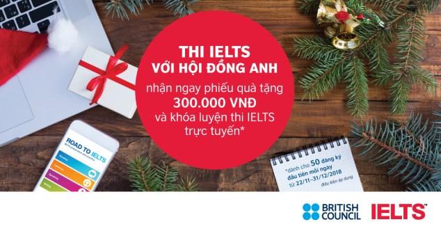 Ưu đãi cuối năm dành cho thí sinh IELTS!
