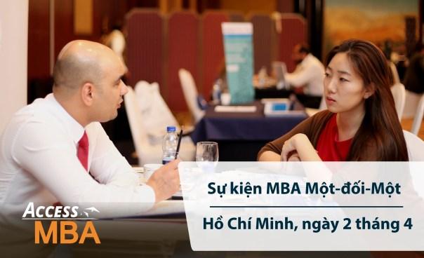 Triển lãm Du học Access MBA tại TP.HCM - Tháng 4/2019