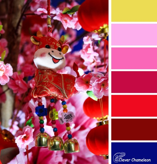 Year of the Ox colour scheme at Clever Chameleon