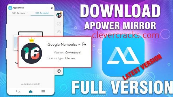 ApowerMirror Crack Full Version Free Download [Win-Mac] VIP Download PC!