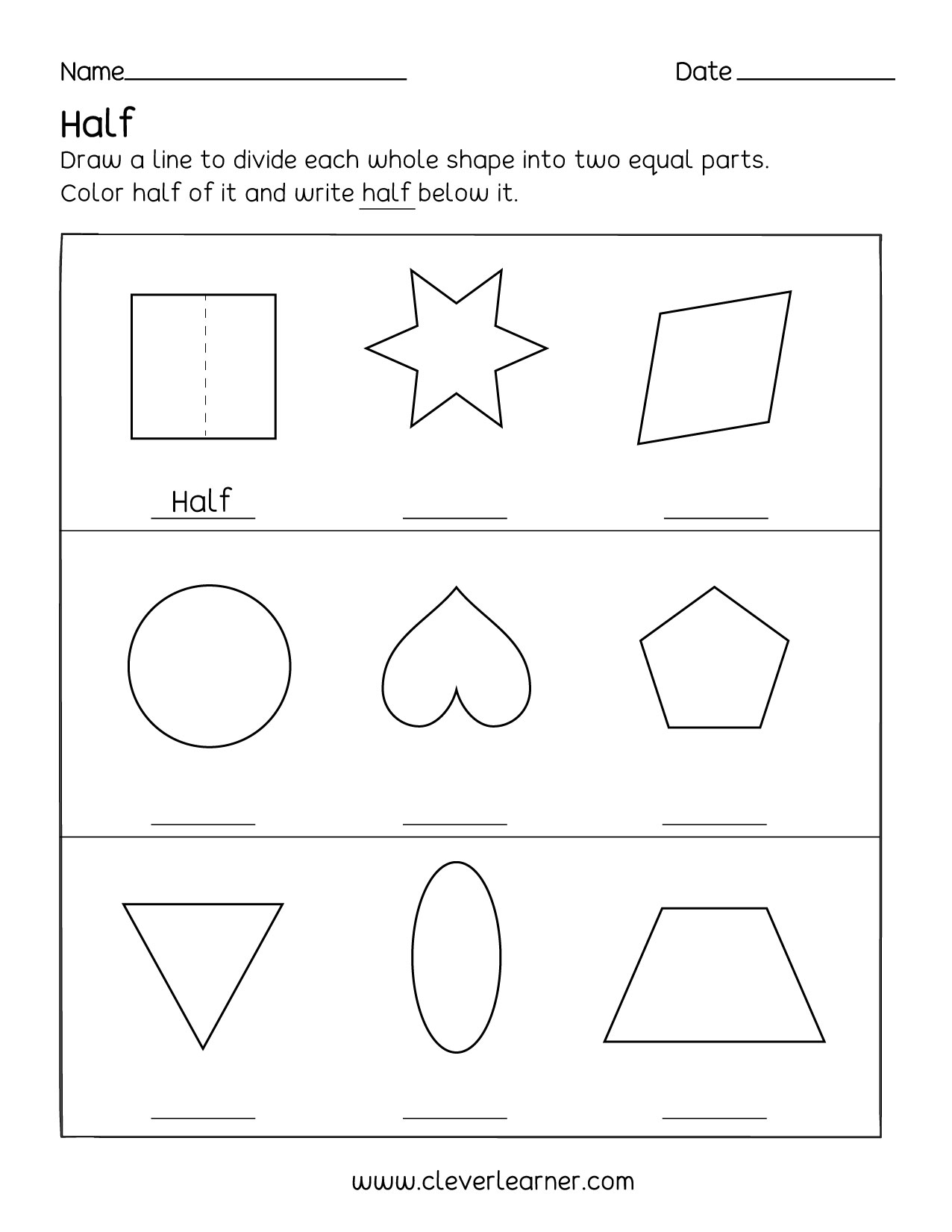 Reducing Fractions Fun Worksheet