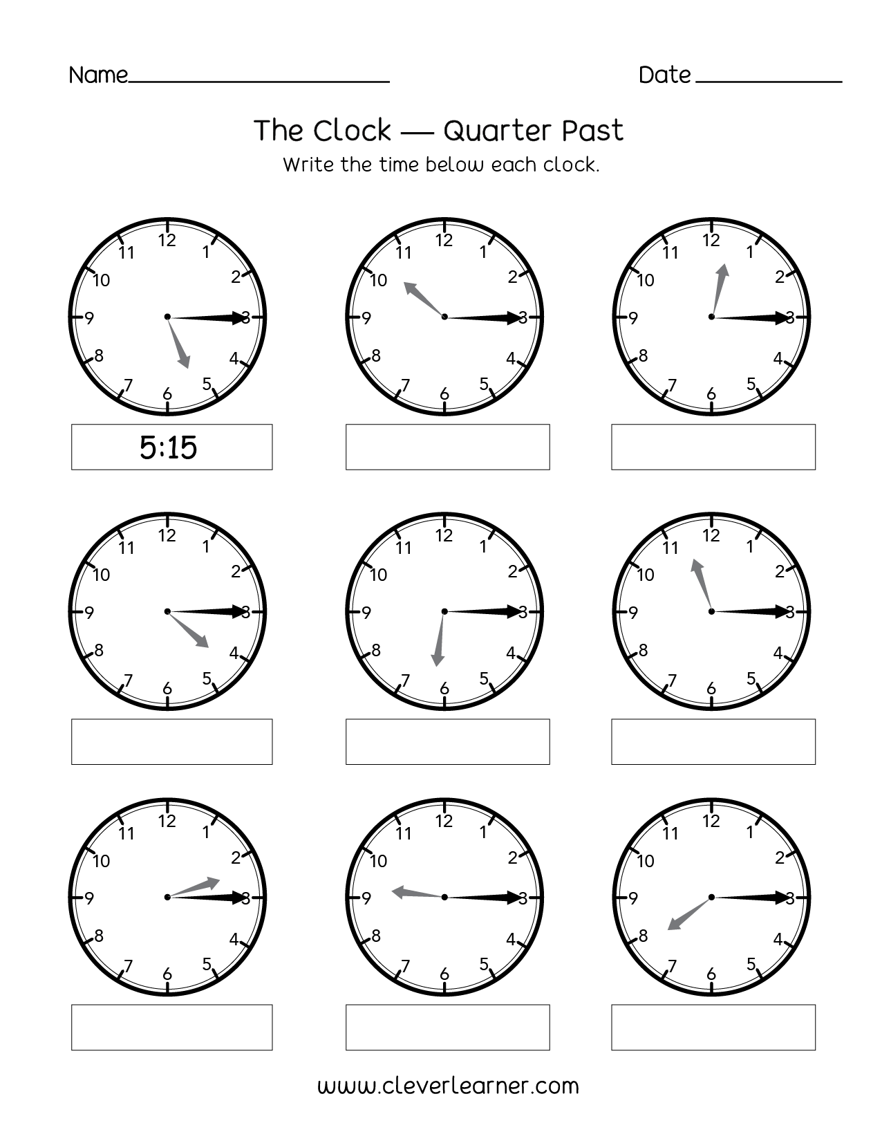 Printables Of Quarter Worksheets For 2nd Grade