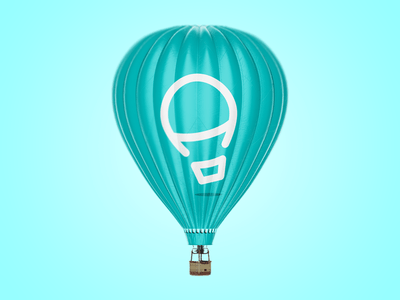 Air Balloon by LeoLogos.com | Smart Logos Designer