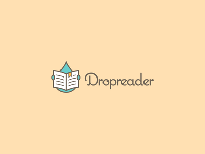 Dropreader - logo by Jakub Kośla