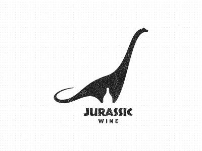 Jurassic Wine Logo by Gert van Duinen
