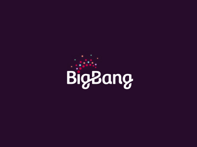 Big Bang Logo Design by Dalius Stuoka