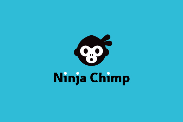 Ninja chimp logoturn1