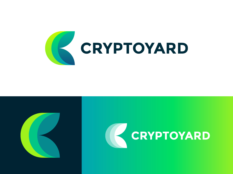 Cryptoyard logo | Crypto exchange and investment platform by Vadim Carazan