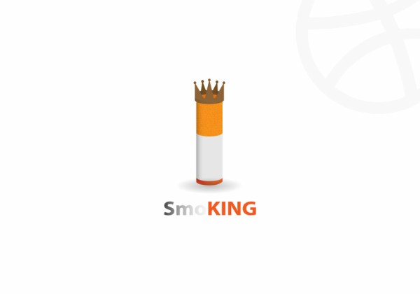 Smoke + King Logo Concept by SGPN