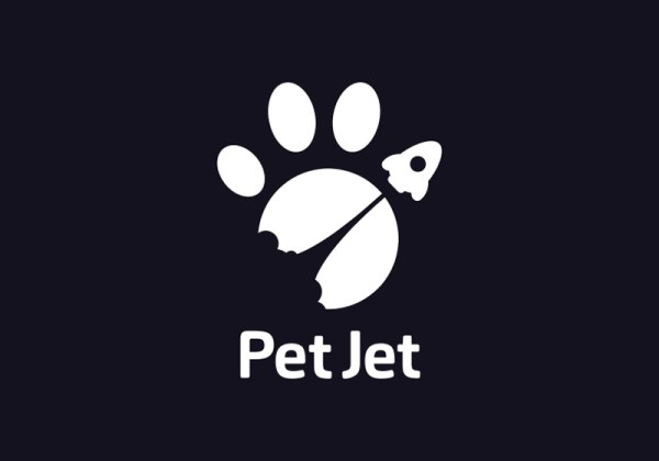 PetJet Logo for Delivery by PavelGnezdilov from Dibbble