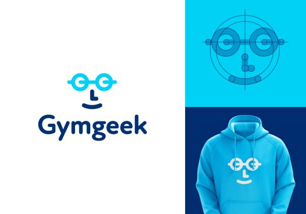 Gymgeek Identity Project by LeoLogos.com   Smart Logos