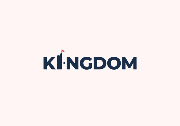 Kingdom Wordmark Logo by Sumesh A K