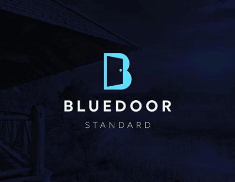 Blue door standard made by james