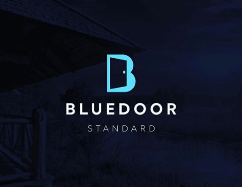 Blue door standard made by james