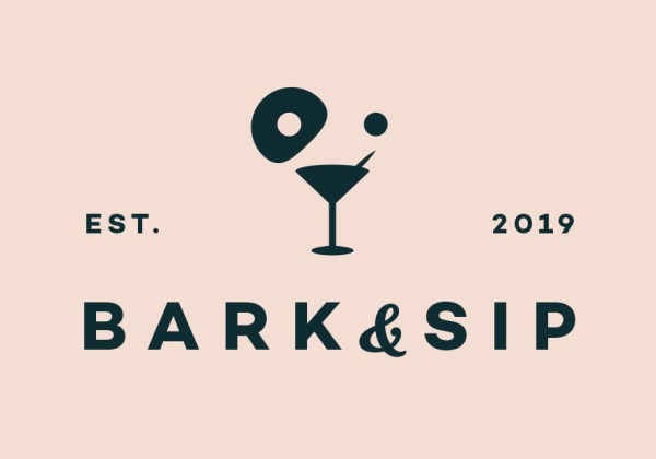 bark and sip logo by Peter White