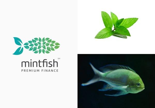 Mintfish logo by rahul rao