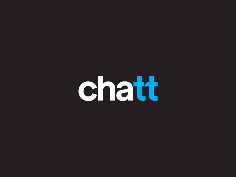Chatt + hidden chat symbol Logo byMateusz Urbańczyk