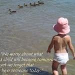 Wordless Wednesday: A child (W/ LINKY) #WW