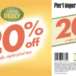20% off Coupon for Pier 1 Imports, exp 1/31/12