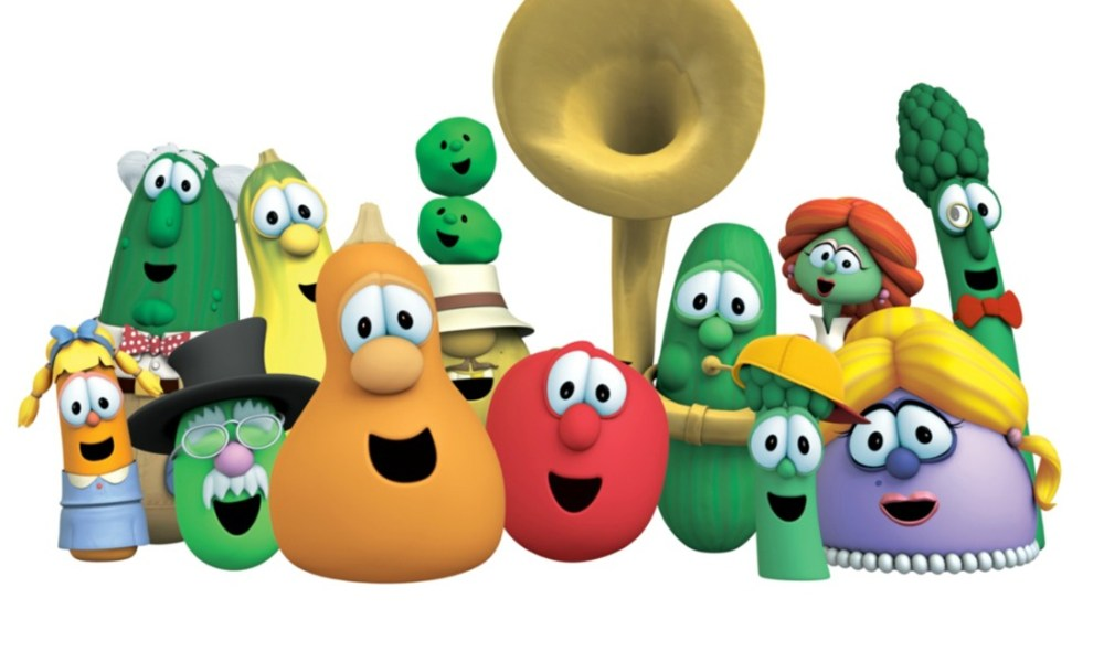 VeggieTales New Release & Sale, some DVDs are only $5