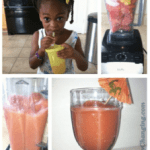 Cooking with Kids: Watermelon Berry Smoothie