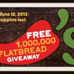 Free Coupon – Chili's One Million Flatbread Giveaway