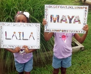 name art gifts for kids